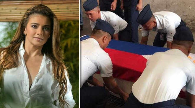 Isabel Granada, binigyan ng full military honors ng Philippine Air Force