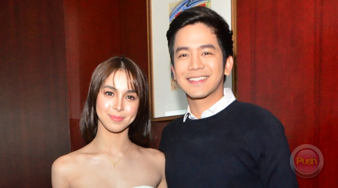 Joshua Garcia reacts on Julia Barretto's sweet Instagram post about 'missing' him