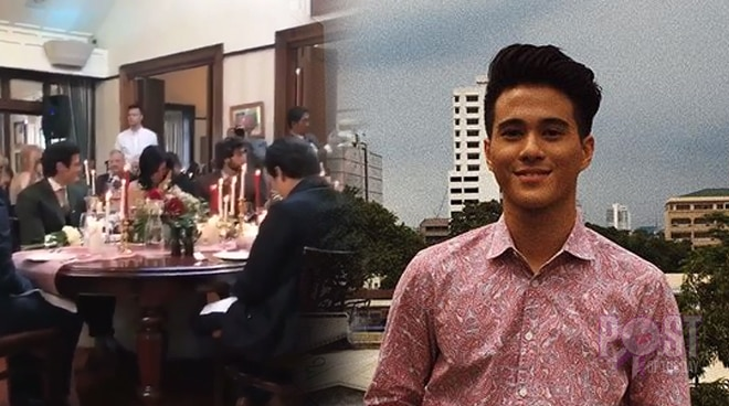 WATCH: Prayer offered to Hashtag Franco Hernandez at Anne Curtis' wedding