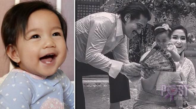 Robin Padilla and Mariel Rodriguez's baby turns 1