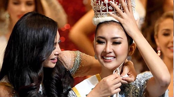 Newly crowned 2017 Miss International Kevin Lilliana trained in PH