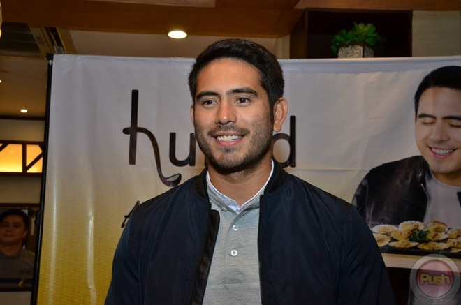 Gerald Anderson is the new face of Cebu-based restaurant chain Hukad and Golden Cowrie.