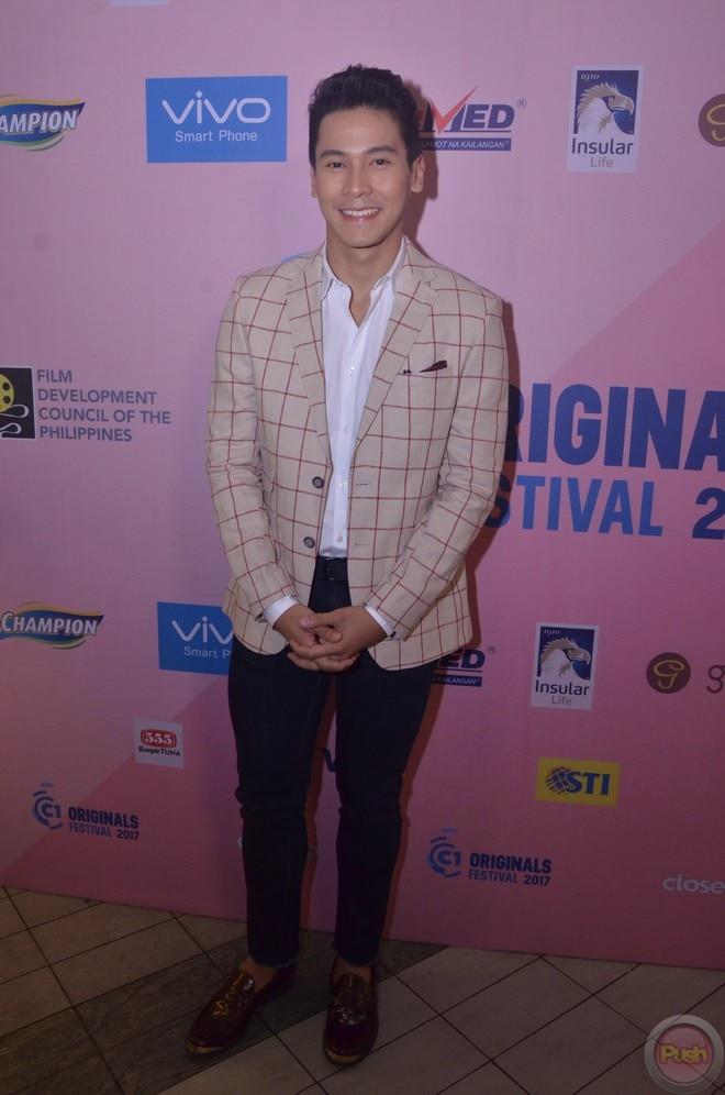 Sylvia Sanchez, Enchong and Jana Agoncillo were among those who graced Cinema One's film festival.