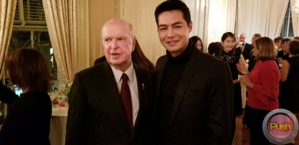 Zanjoe Marudo personally met Bruce Paisner, president and CEO of the IATAS #ZanjoeiEmmys