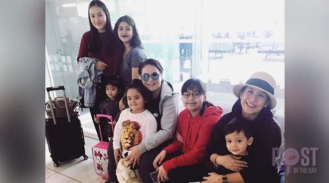 LOOK: Momshies Karla, Jolina and Melai to explore Hong Kong Disneyland with their kids