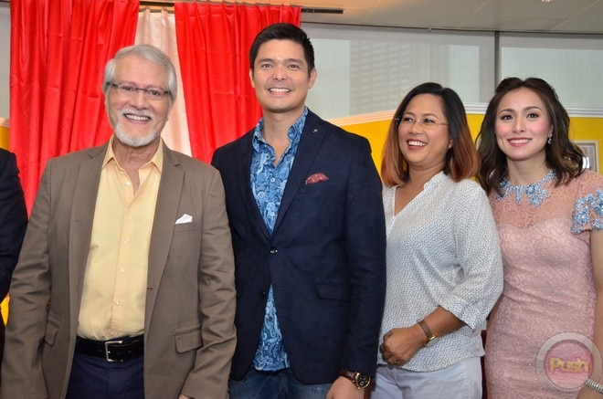 Aga, Dingdong, Enrique, Cristine and Ronaldo for movie 'Seven Sundays'