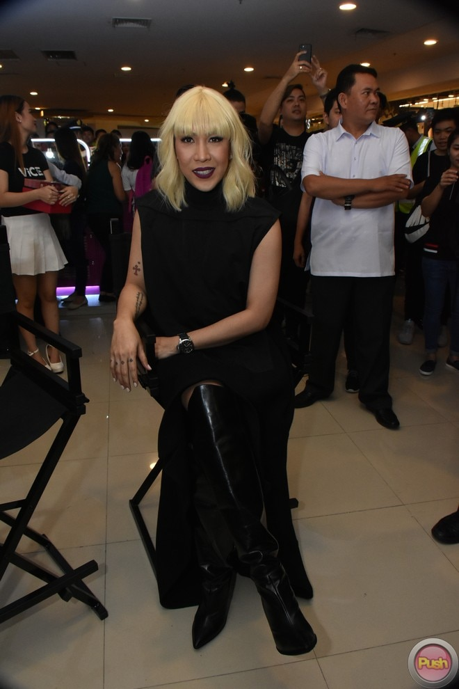 Vice Ganda recently launched his new make-up line called Vice Cosmetics.
