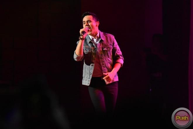 David Archuleta returned to Manila where he had a concert last October 20 at the Kia Theater.