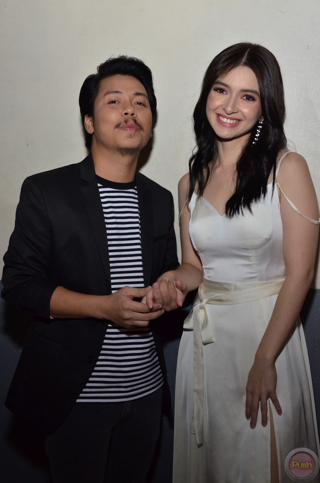 Empoy and Shy Carlos had a fun time at the premiere night of their movie 'The Barker.'