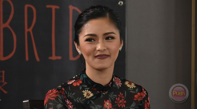 Which actress almost 'outshined' Kim Chiu in 'The Ghost Bride'?