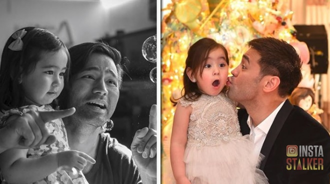 Scarlet Belo and her daddy dearest