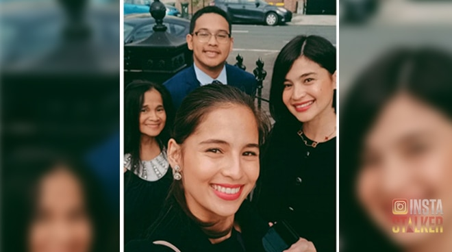 Anne and Jasmine Curtis' brother graduates from high school