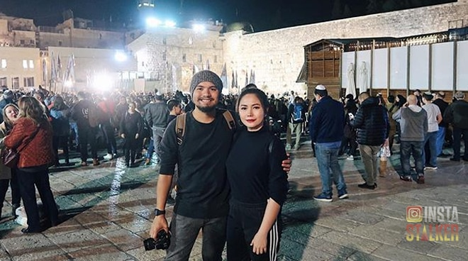 Yeng Constantino's Christmas vacation in Jerusalem