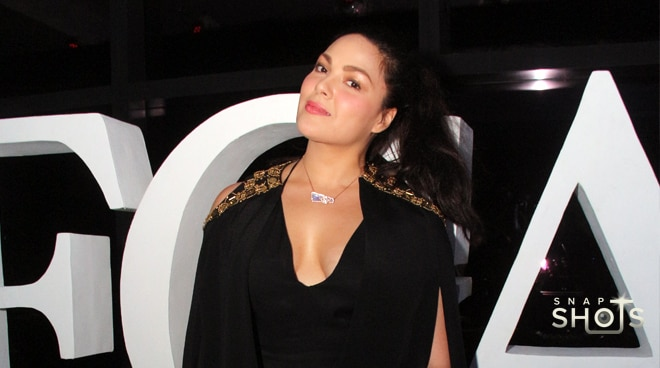 SPOTTED: KC Concepcion attends MEGA Fashion Week