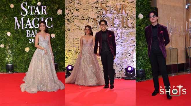 LOOK: Stunning KathNiel walks down the red carpet of Star Magic Ball 2017