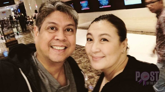 LOOK: Sharon Cuneta and Sen. Kiko Pangilinan on a fun movie date