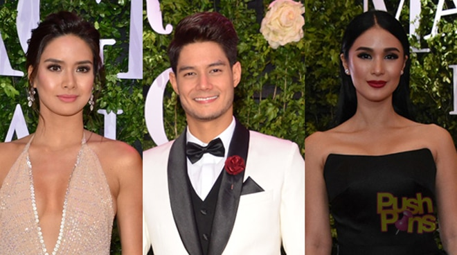 PUSH Pins: Ex-lovers spotted at the 2017 Star Magic Ball