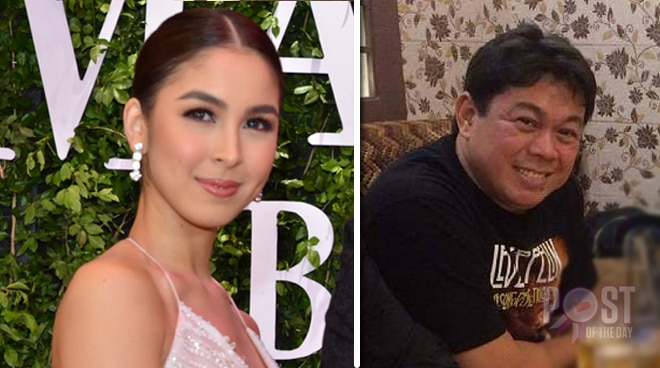 LOOK: Julia Barretto expresses excitement over her dad Dennis Padilla's directorial debut