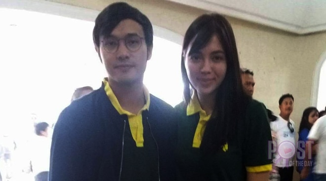 LOOK: Julia Montes and Kean Cipriano work on a DOH project