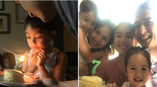 Judy Ann Santos and Ryan Agoncillo's son Lucho turns 7