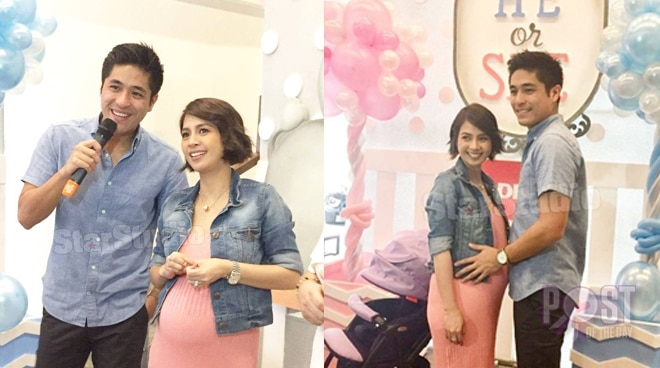 Kaye Abad and Paul Jake Castillo are having a baby boy