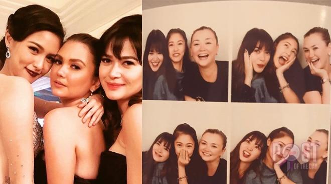 Kim Chiu bagong bff na sina Bela Padilla at Angelica Panganiban