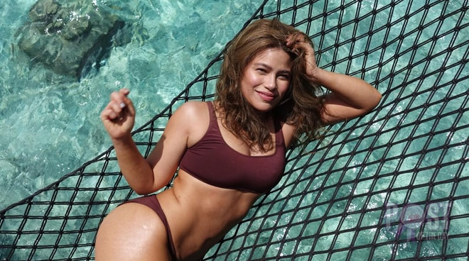 Sexy momma Denise Laurel proudly shares her bikini pics: