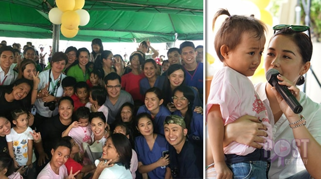LOOK: Maja Salvador holds birthday charity party