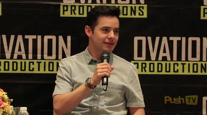 David Archuleta wants to do a comedy movie in the Philippines