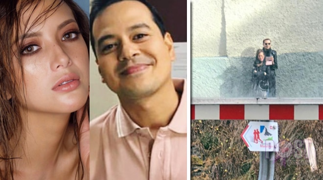 LOOK: Ellen Adarna and John Lloyd Cruz make their next stop in Switzerland
