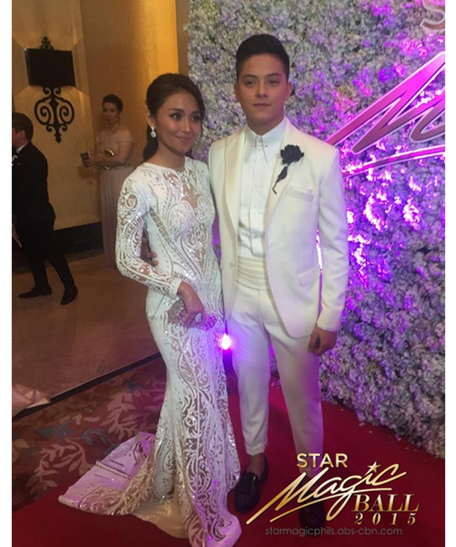 Kathryn Bernardo, Star Magic Ball 2015