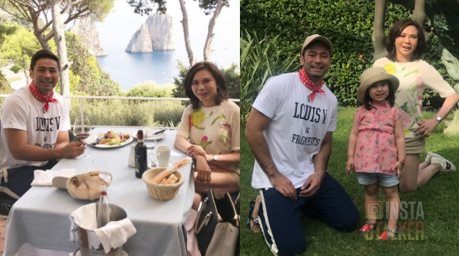 LOOK: Vicki Belo and Hayden Kho's honeymoon in Italy
