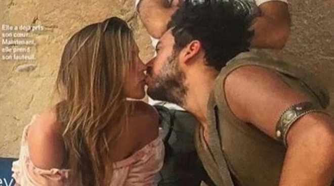 Miss Universe Iris Mittenaere spotted kissing actor Kev Adams