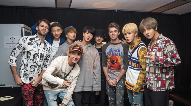 Will The Chainsmokers collaborate with K-pop band BTS?