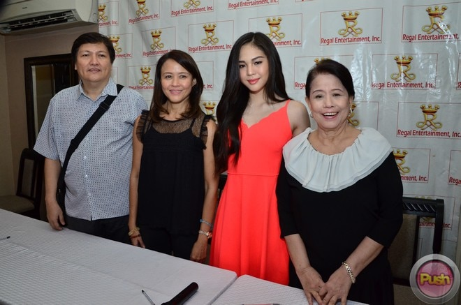 Janella Salvador will do four new movies under Regal Entertainment.