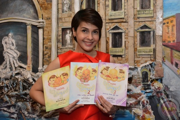 Actress and book author Rita Avila released new books that parents and children can bond over