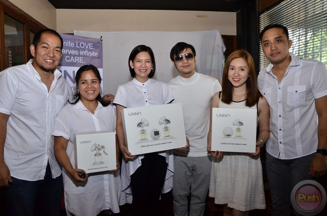 Kean Cipriano & Chynna Ortaleza, together with their business partners, introduce UNNA Cares.