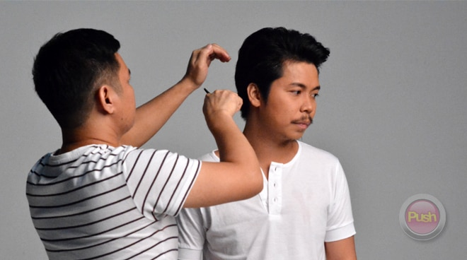 Behind-the-scenes of Empoy's pictorial for 'Ang Kwento ni Money'