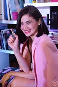 Anne Curtis launched her own makeup line called 'blk cosmetics.'