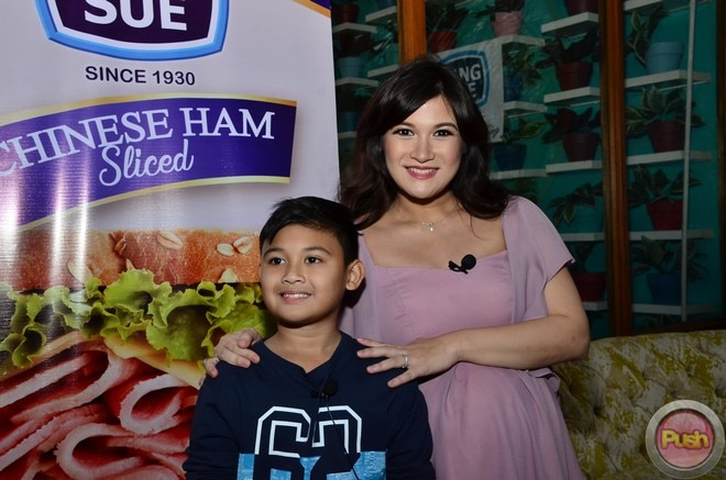 Camille Prats and her son Nathan endorse King Sue.