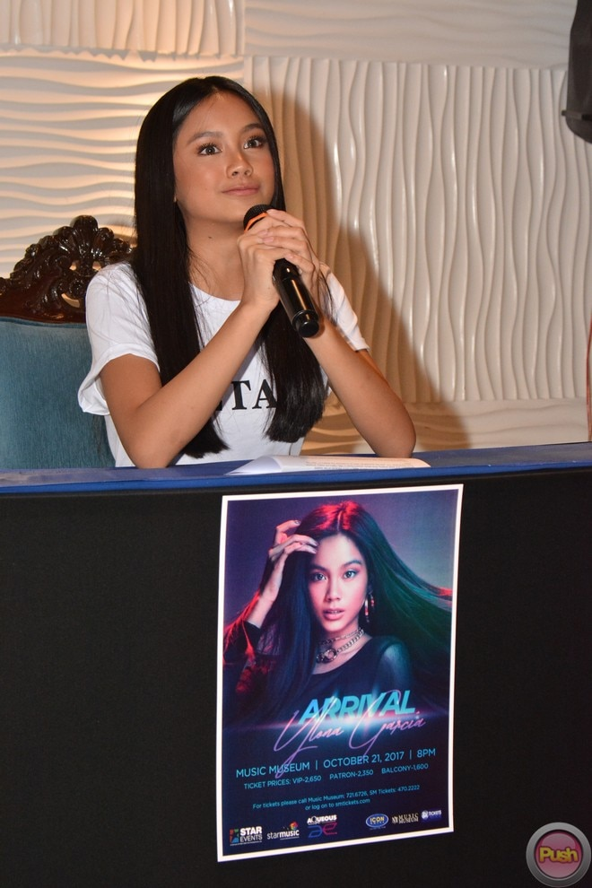 Ylona Garcia to stage her 'Arrival' concert at the Music Museum on October 21.