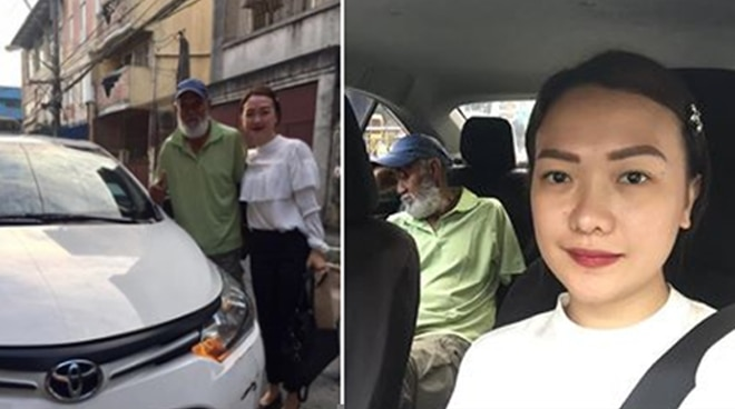 This lady who offered to drive the taxi of an exhausted old man will surely inspire you