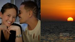 Instastalker: Ellen Adarna and John Lloyd Cruz enjoy the sunset by the Manila Bay