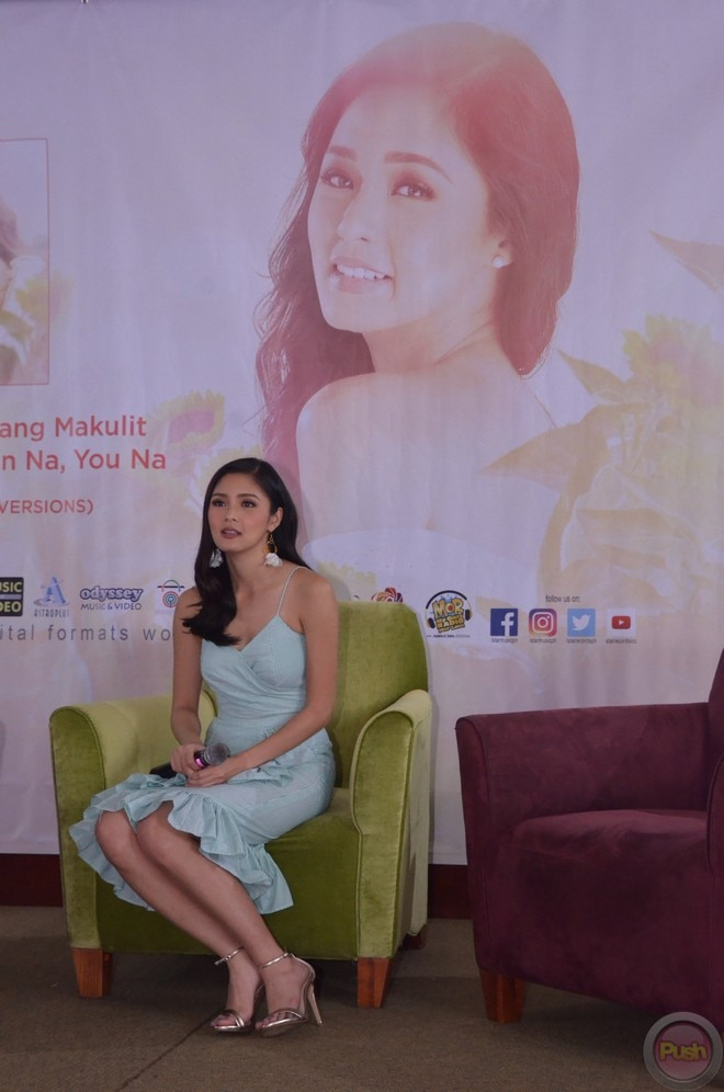 Kim Chiu launched her new album titled 'Touch Of Your Love' with the carrier single 'Okay Na Ako.'