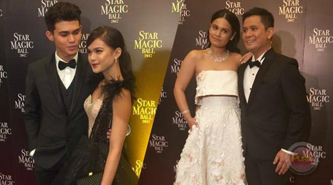 LOOK: Ogie Alcasid, Megan Young, Paolo Angeles, Inigo Pascual, Maris Racal and Robi Domingo at the Star Magic Ball 2017
