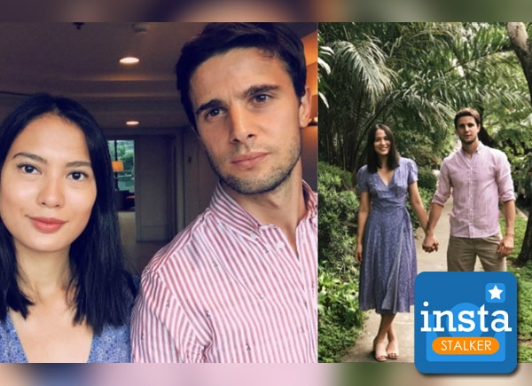 Isabelle Daza and Adrien Semblat could be your #couplegoals