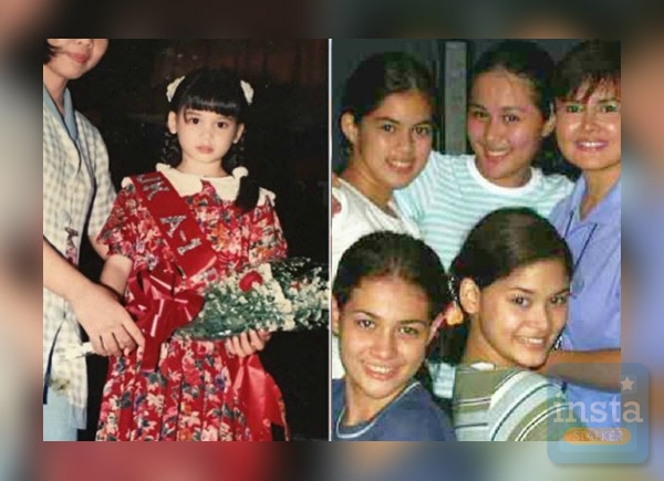 These photos of the young Pia Wurtzbach show how determined she is early in life