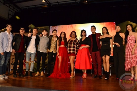 The cast of La Luna Sangre
