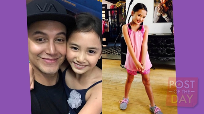 Meet Paolo Ballesteros' beautiful daughter Keira Claire