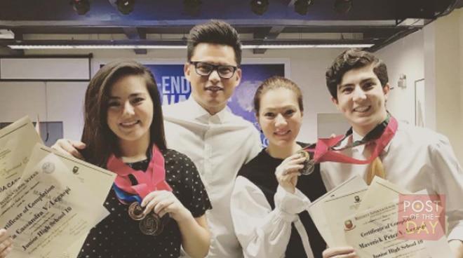LOOK: Mavy and Cassy Legaspi are honor students